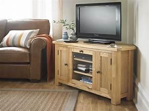 Meuble Tv En Coin : meuble tv de coin en bois 8 id es de d coration int rieure french decor ~ Farleysfitness.com Idées de Décoration