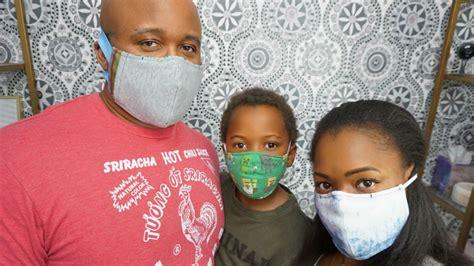 diy face masks  filter option   entire family