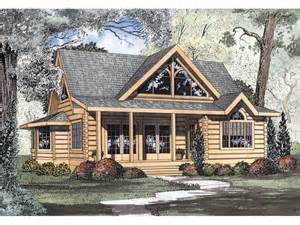 cabin house plans logan creek log cabin home plan 073d 0005 house plans