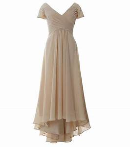 champagne chiffon dresses for mother of the bride beaded With short mother of the bride dresses for summer wedding