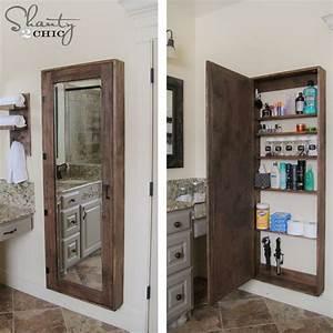 Miroir Salle De Bain Rangement : miroir rangement salle de bain armoire de rangement salle de bain ~ Teatrodelosmanantiales.com Idées de Décoration
