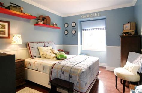 two tone bedroom walls 30 cool and contemporary boys bedroom ideas in blue