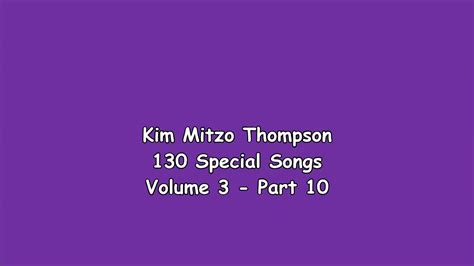 130 Special Songs Volume Three (part