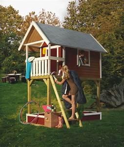 Kinder Holzhaus Garten : kinderspielhaus holz stelzenhaus ~ Frokenaadalensverden.com Haus und Dekorationen
