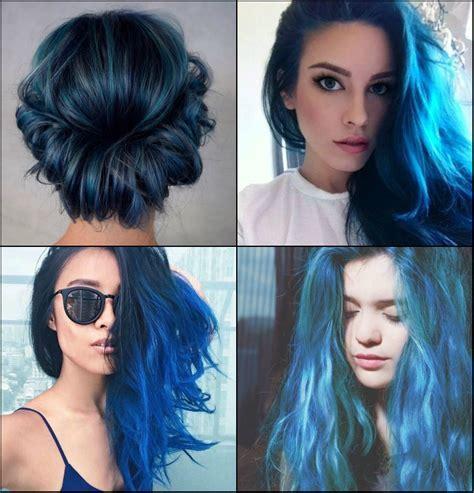 Meer und Himmel Blau Haarfarbe 2017 Werden Sie Lieben