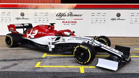 Alfa Romeo Racing Launches 2019 F1 Car During Barcelona