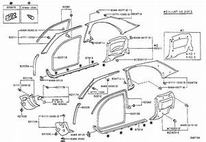 1974 Toyota Corolla Body Parts