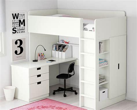 lit mezzanine ikea avec bureau lit mezzanine lit superposé enfant ikea