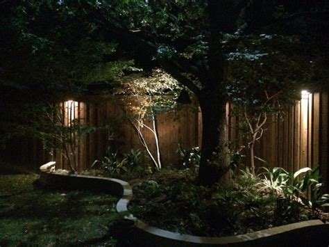 flower bed lights 17 best images about fence step wall lighting