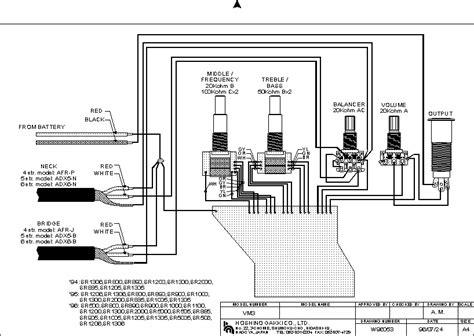 схемы распайки гитарных датчиков потенциометров