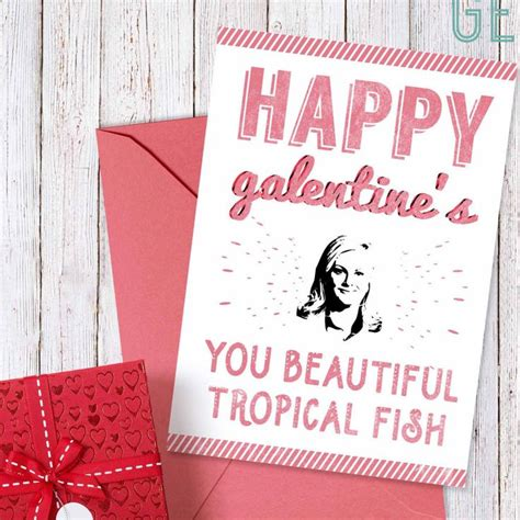 Leslie Knope Galentine's Day Cards
