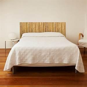 Tete De Lit Bambou : stickers muraux sticker t te de lit canisse bambou d co chambre ~ Teatrodelosmanantiales.com Idées de Décoration