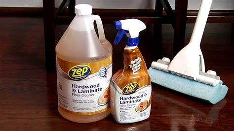 zep commercial hardwood laminate floor cleaner youtube