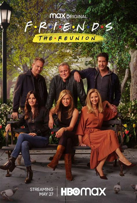 The reunion is the best cast reunion of all time. FRIENDS : THE REUNION Trailer And Poster Key Art | Seat42F
