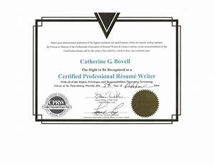 certified professional resume writer cprw certification With certified professional resume writer cprw