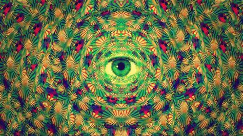 green trippy wallpaper gallery