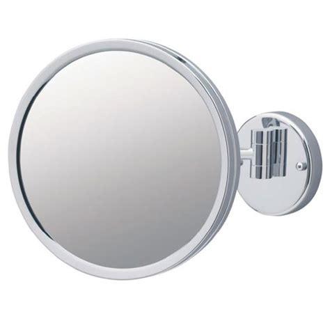 jerdon wall mount lighted mirror jerdon jd12cf 9 quot non lighted wall mount mirror 3x