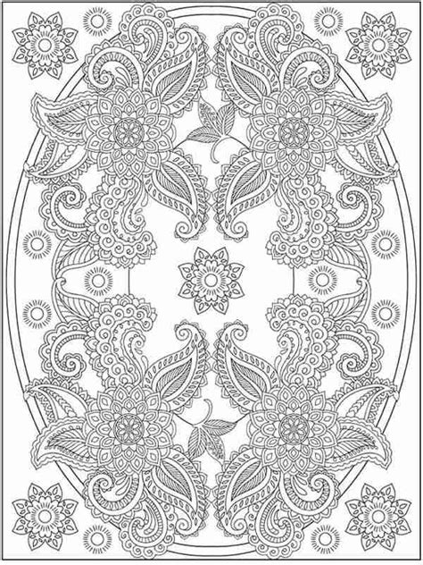 garden flowers printable coloring pages  adult