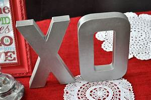 faux brushed nickel letter tutorial make and takes With nickel letters