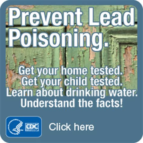 lead poisoning prevention pamphlet
