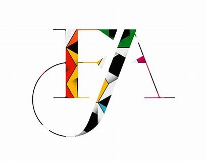 Fa Letters Typography Cool Graphic Alphabet Ligature