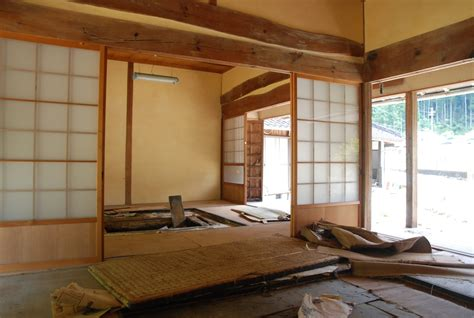 cuisine japonaise traditionnelle maison ancienne traditionnelle japonaise à la cagne