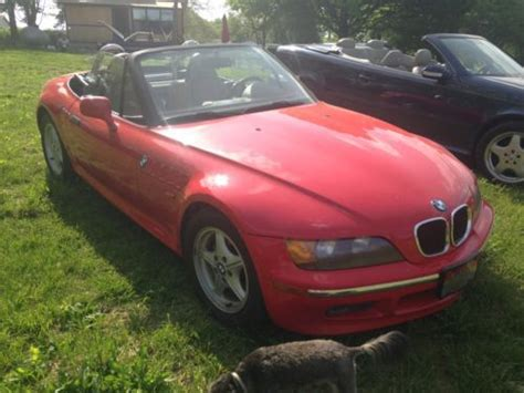 Buy Used 1996 Bmw Z3 Convertable James Bond Car Red And