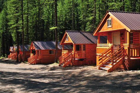 The Glacier Cabin Montana Shed Izaak Walton Inn Family Cabins In Glacier National Park
