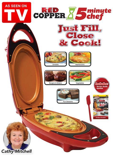 red copper  minute chef drleonardscom