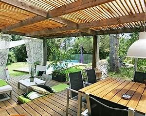 Fermer Une Terrasse Couverte : terrasse couverte idee nos conseils ~ Melissatoandfro.com Idées de Décoration