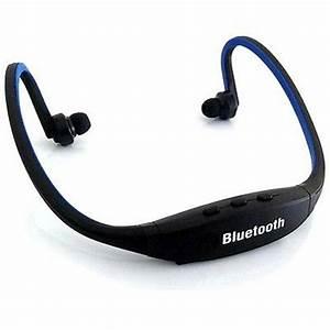 Wireless Bluetooth Headset Sport Stereo Headset Earphone ...