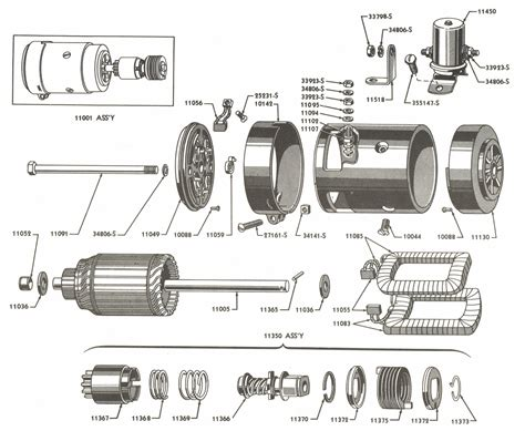 Starter Parts For Ford Tractors