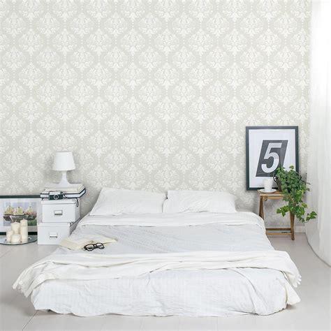 damask removable wallpaper tile