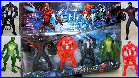 Bonecos Venom Carnificina Homem Aranha E Lagarto