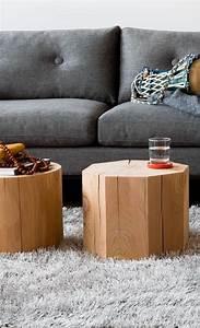Rondin De Bois Table : que faire avec un rondin de bois id es en photos rondin de bois rondin et ~ Teatrodelosmanantiales.com Idées de Décoration