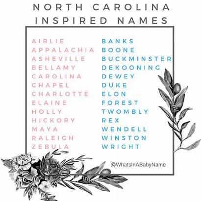Names Southern Boy Unique Carolina Instagram North
