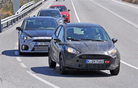 ford fiesta rs spied    time autoevolution
