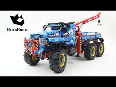 lego technic 42070 6x6 all terrain tow truck lego speed