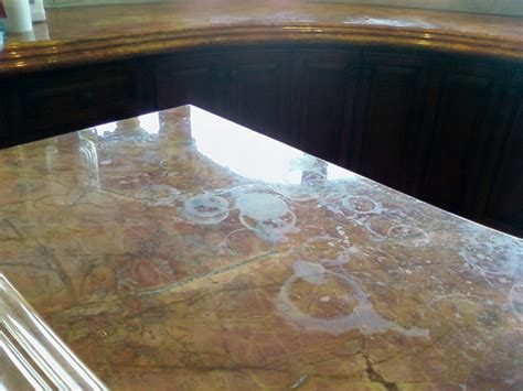 rust stains removal from marble