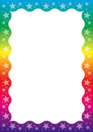 colourful paper borders frames borders  paper writing paper frame clipart