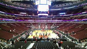 Interactive Seating Chart For United Center United Center Section 117 Chicago Bulls Rateyourseats Com