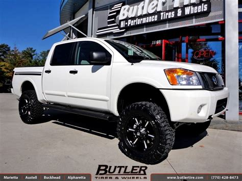 Nissan Titan with 20in Fuel Dune Wheels exclusively from ...