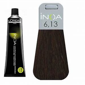 L Oreal Inoa 6 13 Dark Ash Golden Hair Colar And