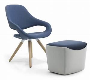 Loungesessel Mit Hocker : design loungesessel mit hocker f r empfang leyform ~ Lateststills.com Haus und Dekorationen