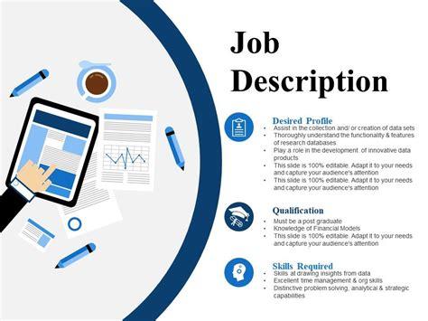 job description   powerpoint  images