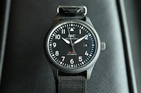 Sihh 2019  Iwc Pilot's Watch Automatic Top Gun Iw326901