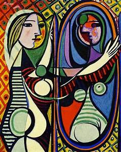 My view on Pablo Picasso's painting 'Girl Before a Mirror ...