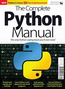The Complete Python Manual Vol 39