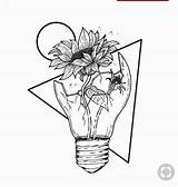 Space Coloring Drawing Drawings Outer Sunflower Aesthetic Flower Flowers Rose Sketch Draw Inside Broken Pencil Tattoo Bad Lightbulb Collegesportsmatchups Faces sketch template