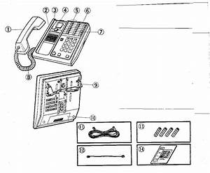Telephone Parts Diagram